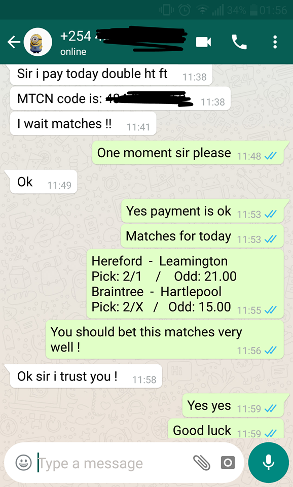 football fixed matches