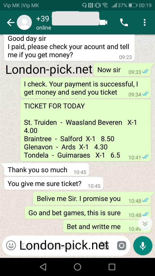 weekend fixed matches 100%